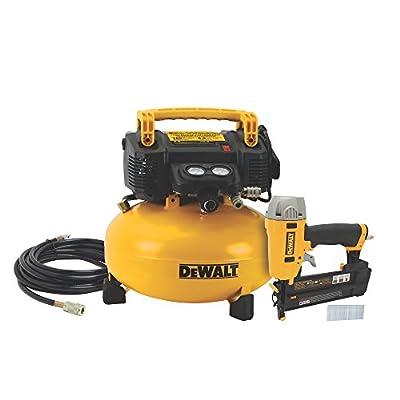 DEWALT DWC1KIT-B Brad Nailer and Compressor Combo Kit