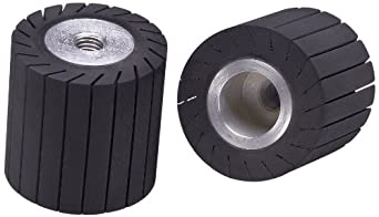 3m(tm) rubber slotted expander wheel 77722, expanding drum