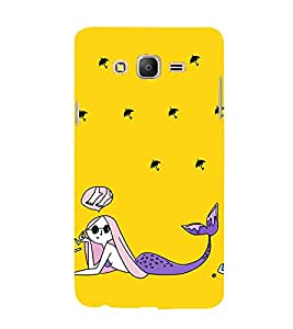 99Sublimation Girl at Beach Animation 3D Hard Polycarbonate Back Case Cover for Samsung Galaxy On5 :: Pro