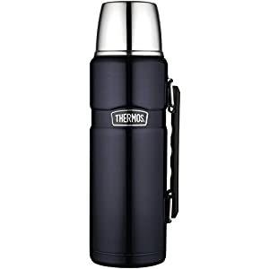 Thermos SK2010MB4 King Beverage Bottle, Stainless Steel (Midnight Blue)