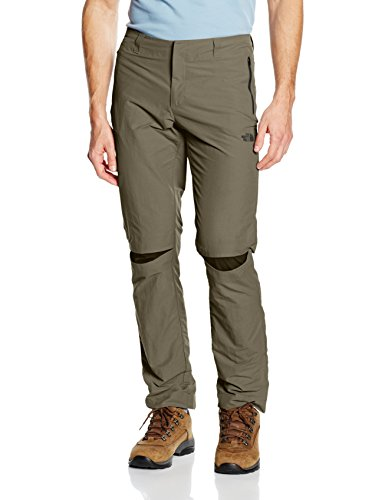 The North Face T-Chino Pantaloni da uomo Marrone Marrone  - Weimaraner Brown 36