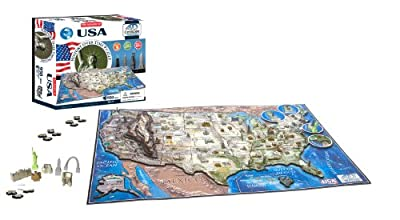 4D Cityscape USA History Time Puzzle from 4D Cityscape Inc