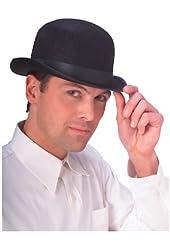 Jacobson Hat Company Men's Deluxe Felt Derby (5 Inch Tall)