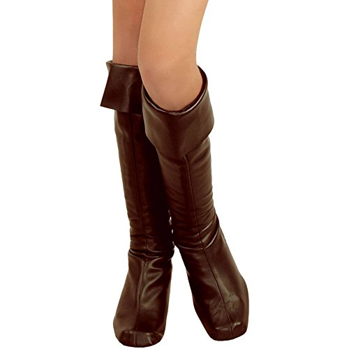 Girls Brown Pirate Boot Tops
