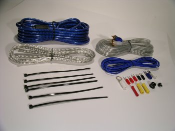 Scosche KPA-8 550 Watt 2 Channel Complete Amp Wiring Kit