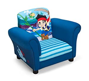 Delta Children's Products Disney Jake and The Never Land Pirates Upholstered Chair by Delta Children's Products