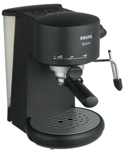 krups 880 42 gusto pump espresso machine espresso machine reviews. Black Bedroom Furniture Sets. Home Design Ideas