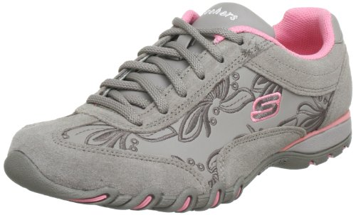 Skechers Women's Speedster-Nottingham Natural Suede/Pink Trim Comfort Lace Ups 99999478 3 UK