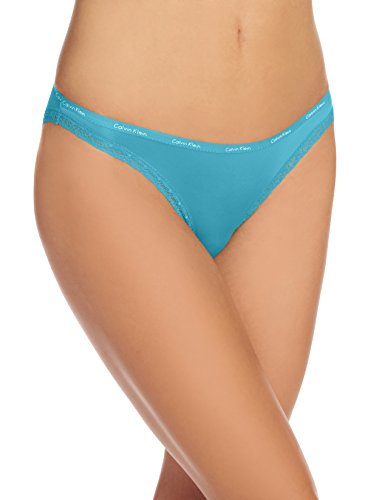 Calvin Klein Women's Bottoms Up Bikini Panty, Continental, Large