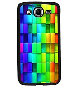 PrintDhaba Pattern D-2433 Back Case Cover for SAMSUNG GALAXY MEGA 5.8 (Multi-Coloured)