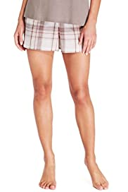 M&s Collection - MK CHECK SHORT [T37-9168-S]
