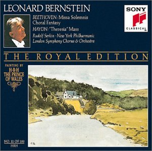 Beethoven: Missa Solemnis; Choral Fantasy / Haydn: Theresia Mass (Bernstein Royal Edition #11)