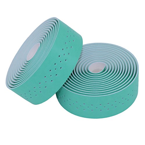 kingou-bianchi-green-handlebar-tape-luxury-pu-leather-bar-tape-fixed-gear-road-bike-bar-wrap-with-2-