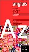L'anglais de A� Z par Houdart