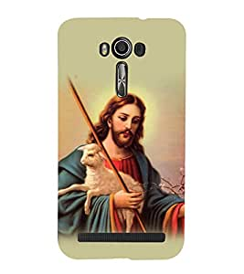 printtech Lord God Jesus Back Case Cover for Asus Zenfone 2 Laser ZE550KL / Asus Zenfone 2 Laser ZE550KL (5.5 Inches)