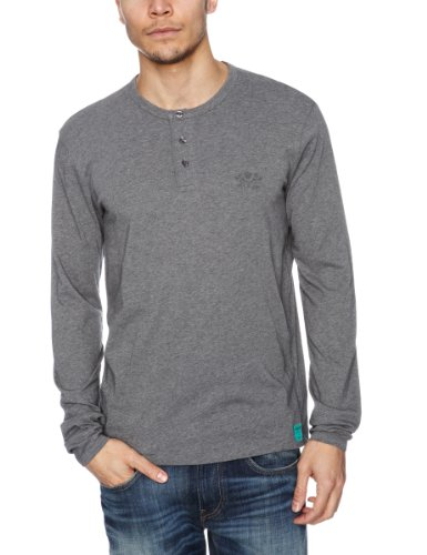 Replay M3846 Plain Men's T-Shirt Grey Melange Medium