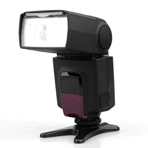 BestDealUSA Flash Speedlite For Canon T2i T1i Xsi Xti 550D 500D SLR Camera