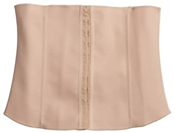 """Squeem """"The Trimmer"""" Firm Compression Waist Cincher, Cotton & Rubber, Mens, Beige, Small"""