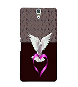 PrintDhaba White Piegon D-4996 Back Case Cover for SONY XPERIA C5 ULTRA (Multi-Coloured)