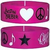 Justin Bieber - Icons - Silikon Armband für Sammler - Wristbands - Breite: 24mm, Durchmesser: 65mm, Dicke: 1mm
