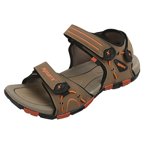 Sparx-Mens-SS0407-Series-Camel-Orange-Synthetic-Casual-Sandal