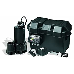 Wayne ESP25 12-Volt 3300 Gallons Per Hour Battery Back Up Sump Pump System at Sears.com