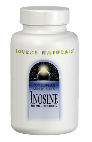 Source Naturals Inosine 500Mg, 60 Tablets