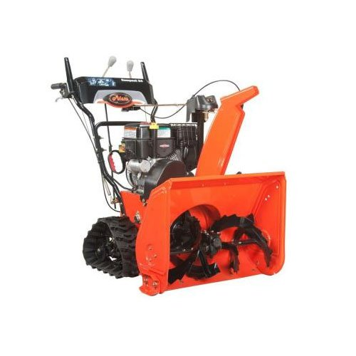 "Ariens ST24LET Compact Track 24"" Two-Stage Electric Start Gas Snow Blower"