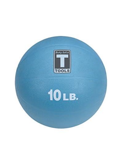 Body Solid 10 lbs. Medicine Ball, Blue
