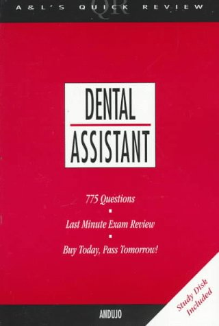 Dental Assistant: 775 Questions And Answers (Book With Disk For Windows)  Dental Assistant Interview Questions