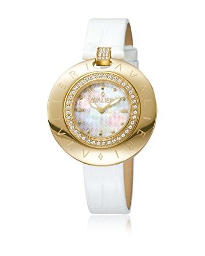AVALIERI Orologio al Quarzo   38 mm [Bianco]