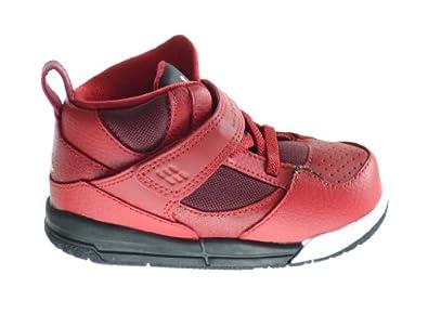 Buy Jordan Flight 45 High (TD) Baby Toddlers Basketball Shoes Gym Red White-Black... by Jordan