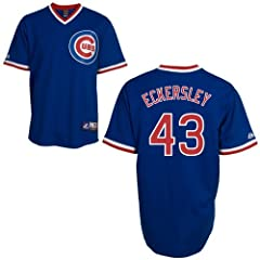 Dennis Eckersley Chicago Cubs Cooperstown Replica Jersey by Majestic by Majestic
