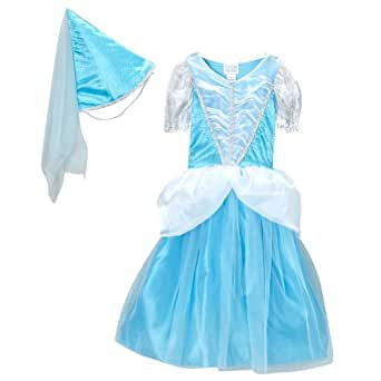 Classic Princess Dress & Cone Hat (Choose Color and Size)