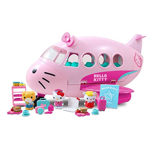 Amazing Hello Kitty Jet Plane Airlines Playset