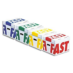 Fast 4912ASX4 Conteneurs Assorties Lot de 4