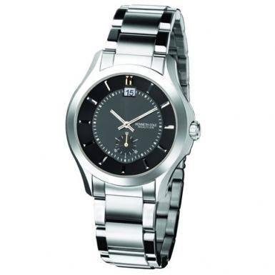 Kenneth Cole Gents Smart Black Dial With Subdial Bracelet Watch With Date KC3678