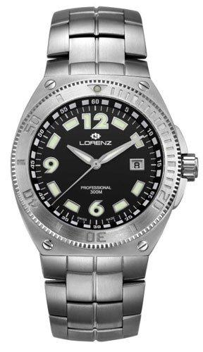 Lorenz 025293AA - Reloj , correa de titanio color gris