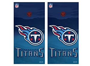 NFL Tennessee Titans Cornhole Shield by Wild Sports