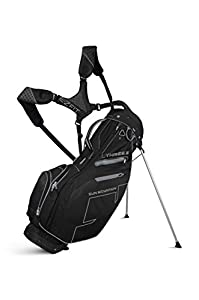 Sun Mountain 2016 Three 5 Stand Bag for Left-Handed Golfer Black