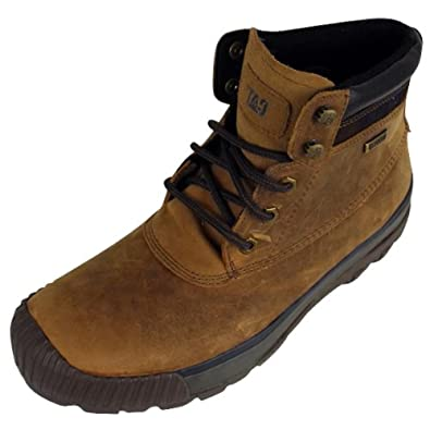 Mens Caterpillar CAT Kuray Waterproof Walking Ankle Boots Leather Hiking Boot 12