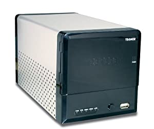 TRENDnet 2-Bay Diskless SATA I/II Network Attached Storage Enclosure TS-S402 (Black)