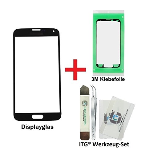 itg premium displayglas reparatur set f r samsung galaxy s5 mini schwarz itech germany. Black Bedroom Furniture Sets. Home Design Ideas