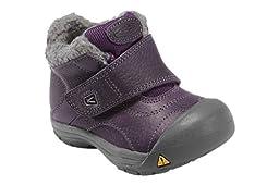 KEEN Kootenay Winter Boot (Toddler/Litte Kid/Big Kid),Sweet Grape,4 M US Toddler