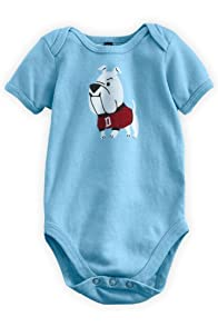 Green 3 Apparel Doggies Organic Baby Playsuit (6-12 months)
