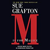 M is for Malice: A Kinsey Millhone Mystery | Sue Grafton