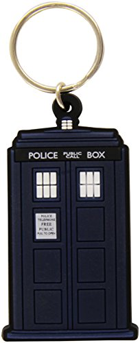 Doctor Who Portachiavi in gomma