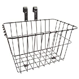 Wald 198GB Multi-Fit Front Handlebar Bike Basket - Black