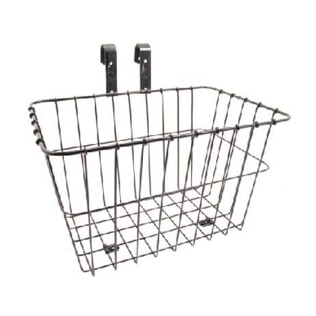 Wald 198GB Multi-Fit Front Handlebar Bike Basket - Black