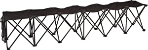 Trademark Innovations Portable Folding Sports Bench - Sideline Collapsible Bench - 4 Or 6 Seats from Red Cup Pong